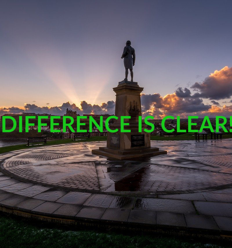 THE DIFFERENCE IS CLEAR!