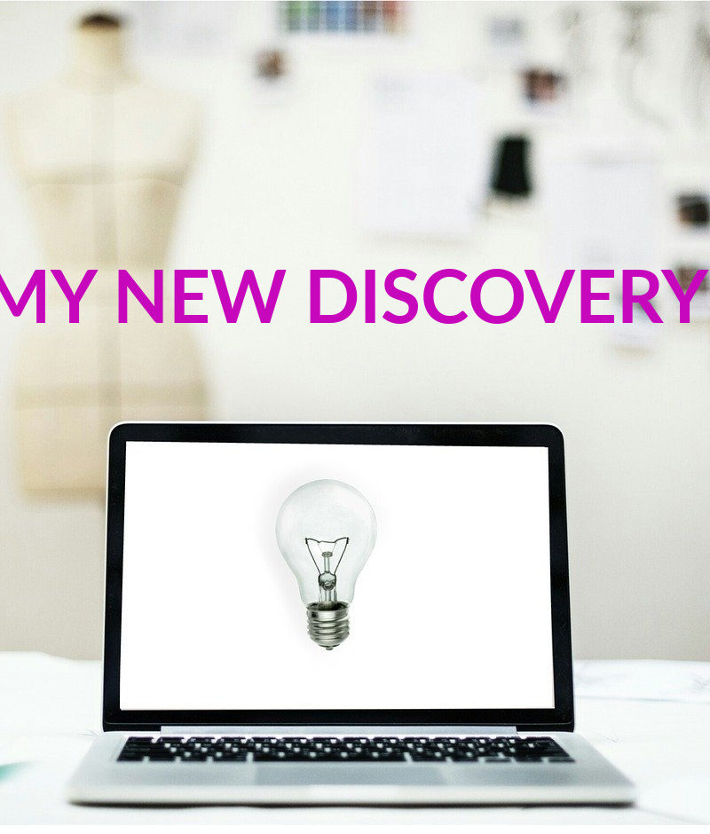 MY NEW DISCOVERY!